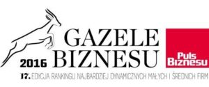 HORTICO z tytułem Gazeli Biznesu 2016