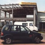 HORTICO - budowa nowej hali - lipiec 2001