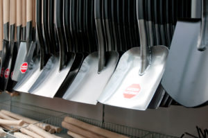 Narzędzia ogrdnicze - łopaty hartowane