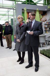 Otwarcie Galerii Ogrodniczej Zielone Centrum zdjęcie 01