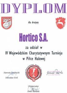 Charytatywny turniej w piłce halowej w Świdniku 08.03.2010