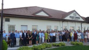 Grupowe zdjęcie - spotkanie Monsanto Biała Panieńska