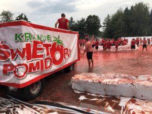 III Krajowe Święto Pomidora 29.07.2018III Krajowe Święto Pomidora 29.07.2018 - bitwa na pomidory