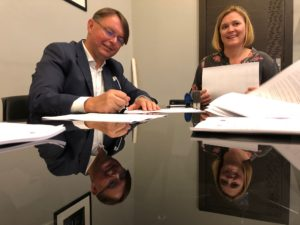 Umowa na rewitalizację zieleni miejskiej - HORTICO i Gmina Ścinawa